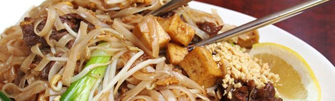 | Thailändische Nudeln